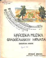 prikaz prve stranice dokumenta Narodna muzika Gradišćanskih Hrvata